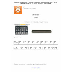SET OF 810 PIN ELAST STAINLESS STEEL A2