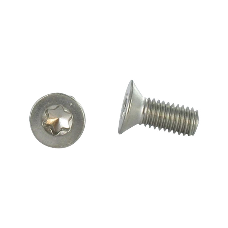 Screw Machine Countersunk Head 5x12 T25 Stainless Steel A2