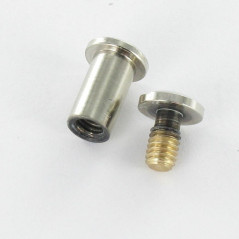 SCREW M4 NICKEL PLATED BRASS FOR SERRAGE 15A20 VS5101