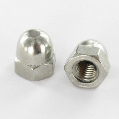 NUT CAP M12 STAINLESS STEEL A4