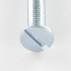 MACHINE SCREW COUNTERSUNK HEAD SLOTTED 5X10 ZINC PLATED DIN 963