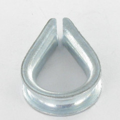 WIRE THIMBLE LEGERE FOR CABLE OF 18