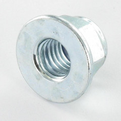 NUT LOCK FOR FLANCHE WITHOUT SERRATION M6 ZINC PLATED