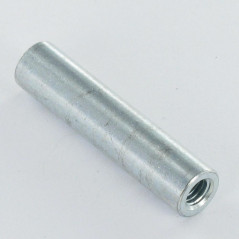 COUPLING NUTS CYLINDRICAL 10X20 M6 ZINC PLATED