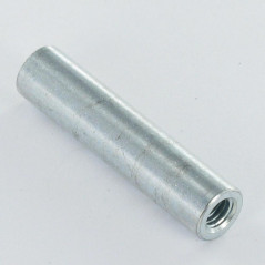COUPLING NUTS CYLINDRICAL 13X40 M10 ZINC PLATED