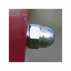 NUT CAP STAINLESS STEEL A2 M4