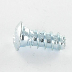 EURO CYLINDRICAL BUTTON HEAD POZI 5X20 HEAD DIAMETER: 9.5 CL8.8 ZINC PLATED