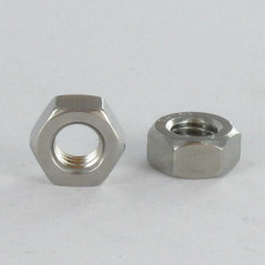 NUT HEXAGON M7 PITCH 100 STAINLESS STEEL A2 WAX
