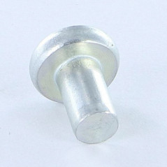 RIVET FLAT HEAD 6.5X12 ZINC PLATED HEAD DIAMETER: 14 EP3 NFE 27151C