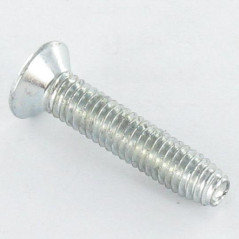 SELF TAPPING SCREW COUNTERSUNK HEAD POZI 4X12 ZINC PLATED DIN 7500M  3 LOBED   VS3130