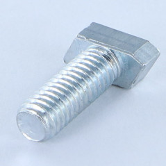 MACHINE SCREW HEAD LOZENGE M6X16 ZINC PLATED 128 HOURS SALT SPRAY TEST NO RED RUST