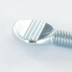 SCREW VIOLON 8X45 ZINC PLATED