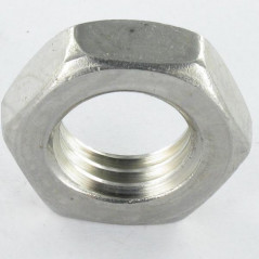 THIN NUT LEFT THREAD M16 STEP 200 STAINLESS STEEL A4