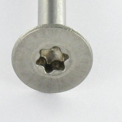 CHIPBOARD SCREW STAINLESS STEEL A2 COUNTERSUNK HEAD 3.5X30 THREAD LENGTH: 18 T10 DOC 8231