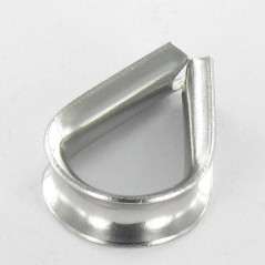 WIRE THIMBLE STAINLESS STEEL A4 DIAMETER 6