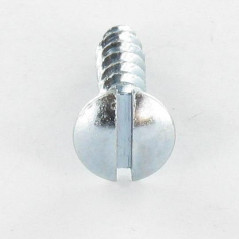 CHIPBOARD SCREW PAN COUNTERSUNK HEAD SLOTTED 4X25 ZINC PLATED