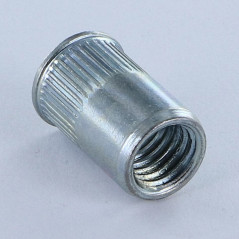 NUT RIVET REDUCED HEAD A/C M6 ACRC ZINC PLATED VS4350