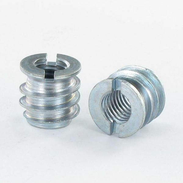 SELF TAPPING INSERT SLOTTED FINE THREAD STEEL