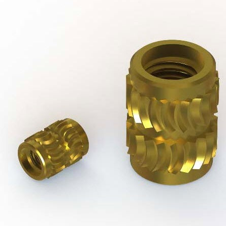 SELF TAPPING INSERT BRASS FOR PLASTIC AMORPHE