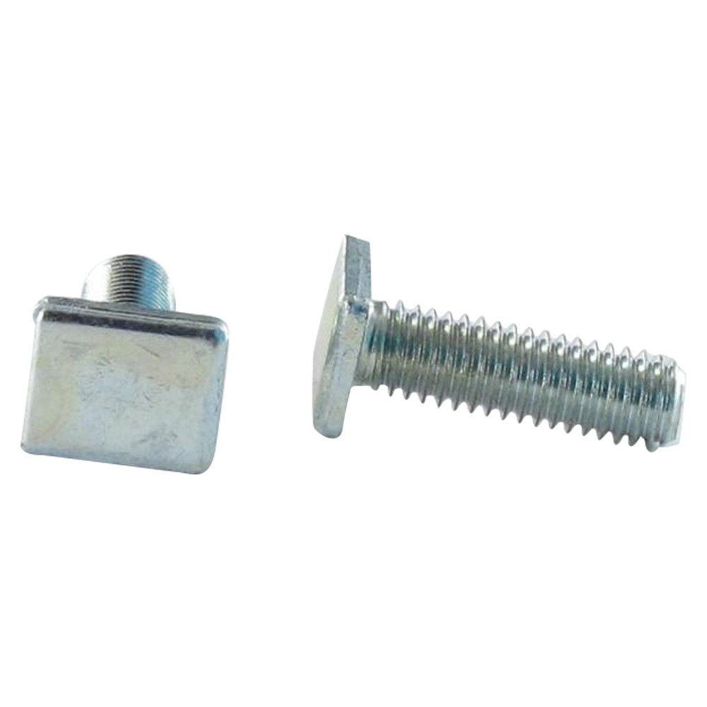 MACHINE SCREW HEAD RECTANGULAR STEEL DIN 186B