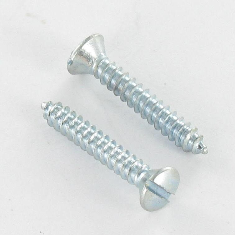 SCREW FOR THREAD ROLLING SCREW PAN COUNTERSUNK HEAD SLOTTED DIN 7973 C