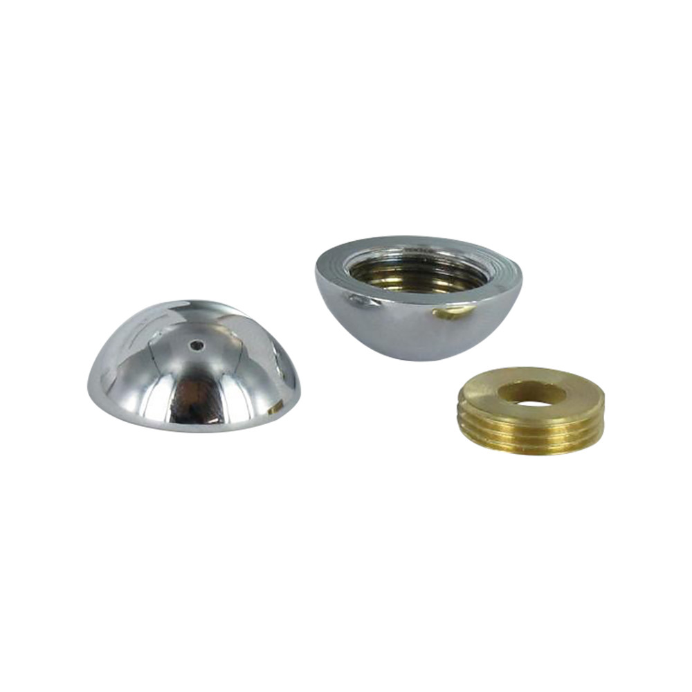 ROUND COVER CAP BRASS 2 PIECES