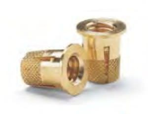 SELF TAPPING INSERT BRASS FOR PLASTIC DUR FOR HEAD