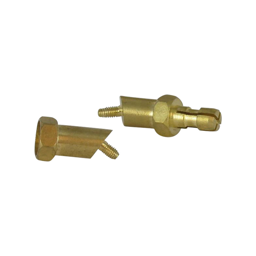 BRASS CORNER PLUG ANCHOR