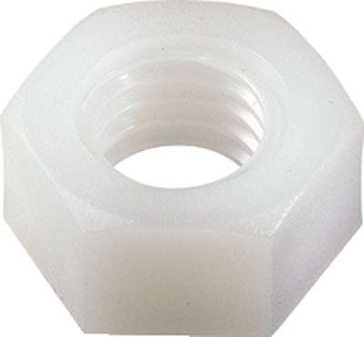 NUT HEXAGONAL NYLON