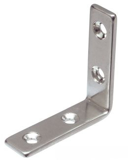 BRACKET 4 TROUX STAINLESS STEEL STAINLESS STEEL A2