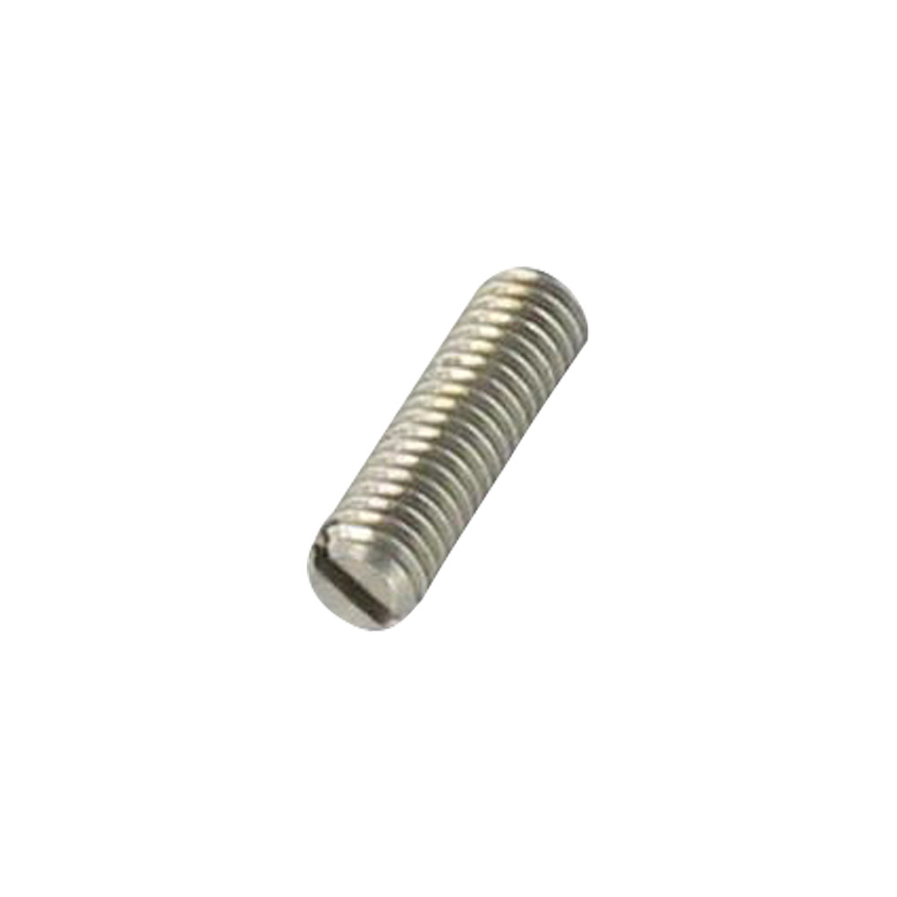 SCREW MACHINE WITHOUT HEAD SLOTTED FOR NAIL DIN553 STAINLESS STEEL A2