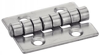 CHARNIERE TYPE H 4 HOLE STAINLESS STEEL STAINLESS STEEL A2