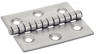 CHARNIERE TYPE I 6 HOLE STAINLESS STEEL STAINLESS STEEL A2