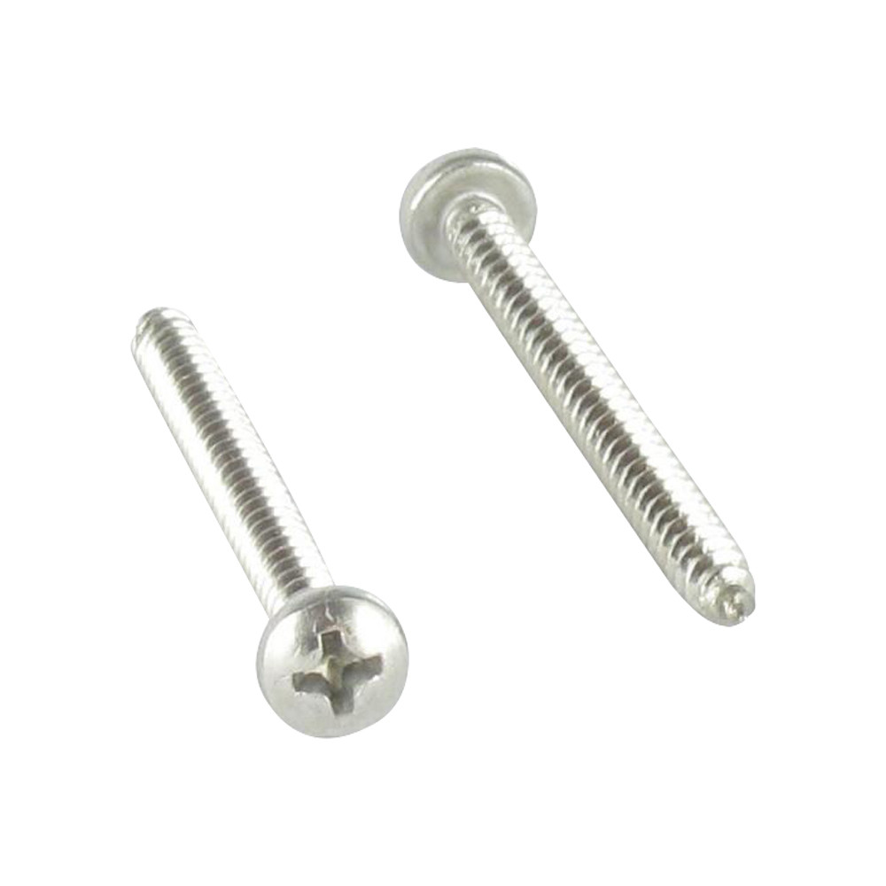 THREAD ROLLING SCREW LARGE PAN HEAD PHILLIPS STAINLESS STEEL A2 DIN 7981
