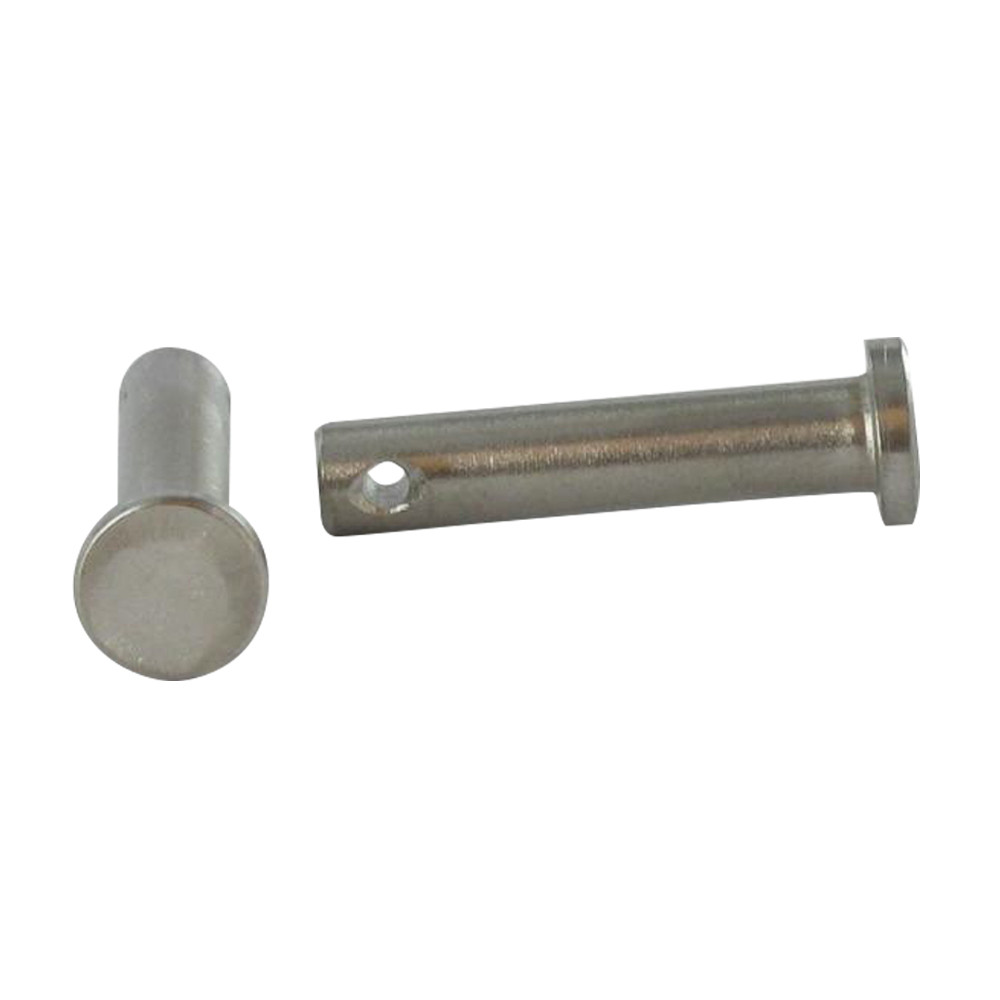 GOUPILLE INOX A4 TETE PLATE PERCEE